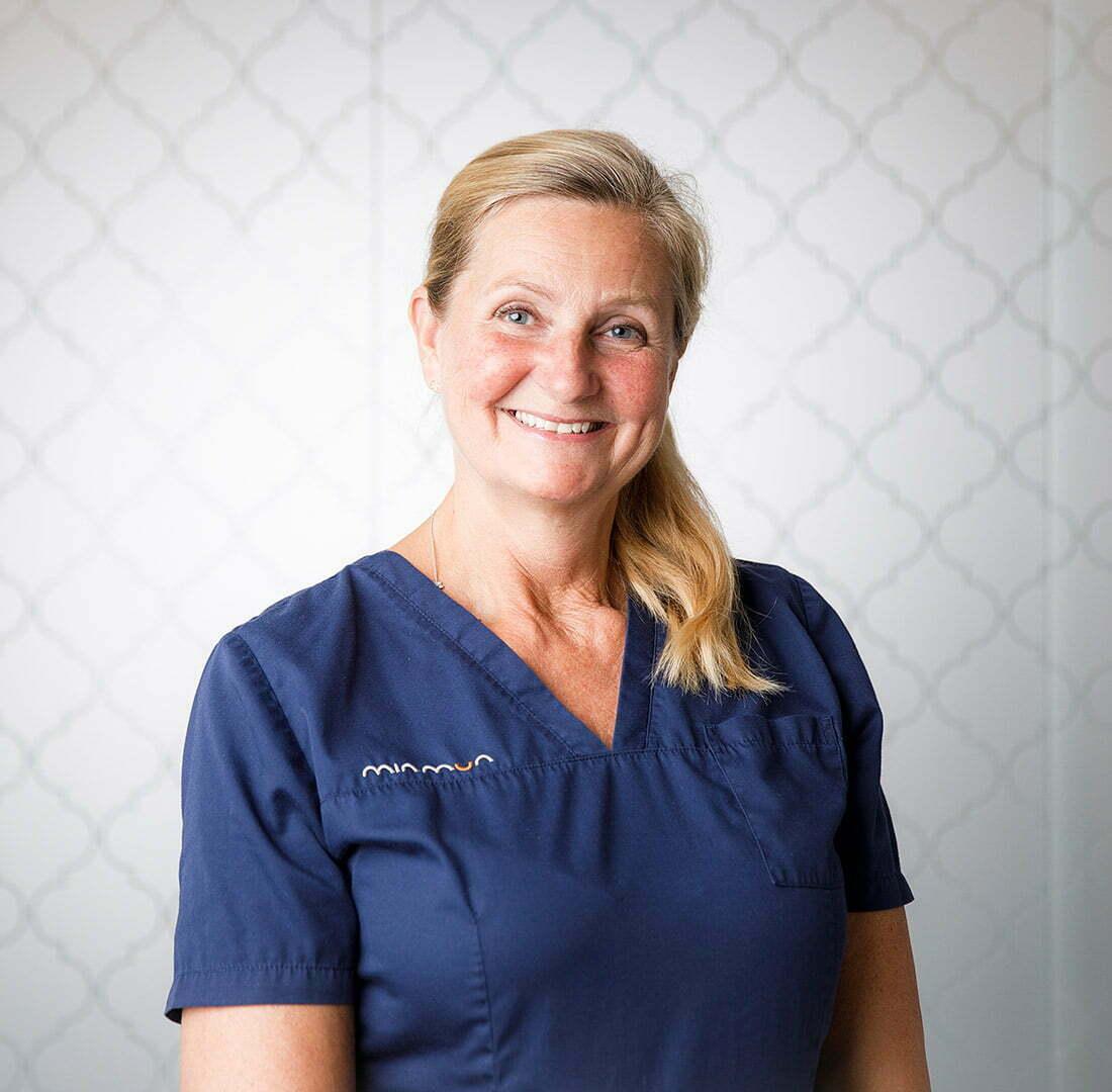 Klinikägare & leg tandläkare Elisabeth Björkman