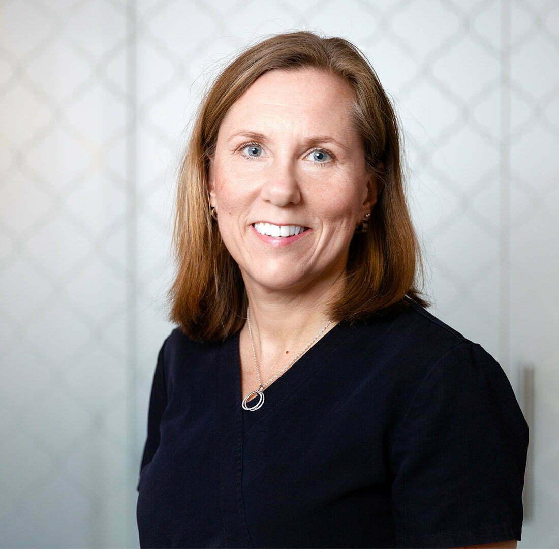 Klinikchef Heléne Bjerveus