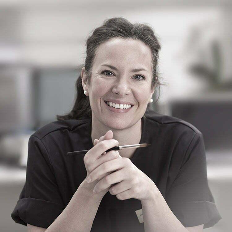 Tandtekniker Johanna Muntané
